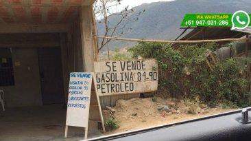 Venta ilegal de combustible en frontera con Ecuador sigue