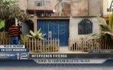 Villa El Salvador: intervienen casa donde falsificaban billetes