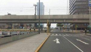 San Borja: así luce la avenida Aviación y las calles aledañas