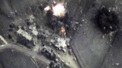 Se dijo que rebeldes sirios entrenados por la CIA fueron alcanzados por el fuego.