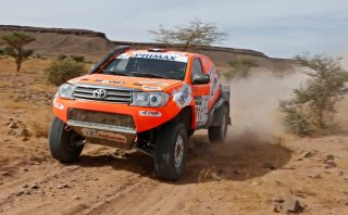 Raúl Orlandini lidera el primer día del Rally Marruecos
