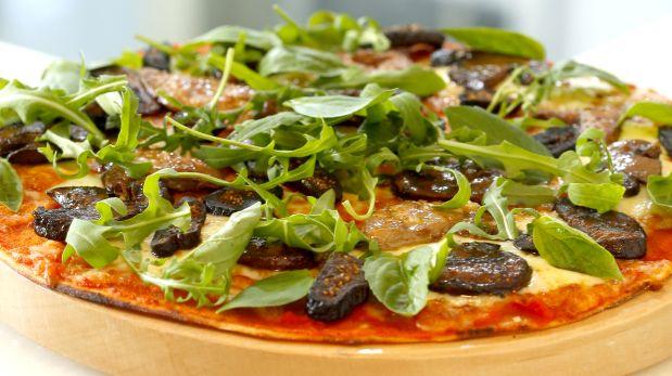 La Pizzeta ;) con foie gras e higos. Una delicadeza de sabor excepcional. (Foto: Giovanna Fernández)