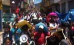 Paro por Las Bambas: unas 2 mil personas marcharon en Abancay