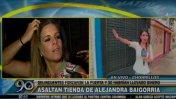 Alejandra Baigorria: roban en su tienda de ropa en Chorrillos
