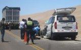 Moquegua: choque dejó una persona fallecida y siete heridas