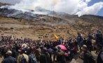 Las Bambas: comisión de alto nivel llegó a Coyllurqui