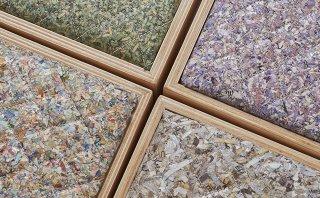 Billetes triturados se convierten en tapiz de las sillas Value