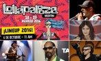 Lollapalooza: este es el line up de Chile, Argentina y Brasil
