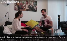 Mujer hizo broma de embarazo pero se salió de control [VIDEO]