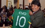 """Evo Morales a futbolistas: """"Si clasifican les doy lo que pidan"""""""