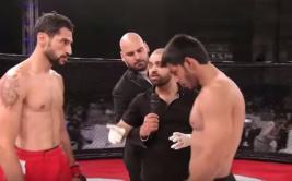 Luchador arrogante recibe lección y es noqueado en 9 segundos
