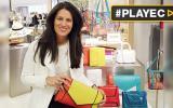"""Yliana Yepez presentó en París los bolsos de las """"celebrities"""""""