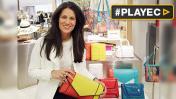 Yliana Yepez presentó en París los bolsos de las
