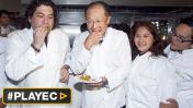 El almuerzo del presidente del Banco Mundial y Gastón Acurio