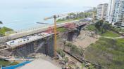 Miraflores: puente mellizo tiene un avance de 73%