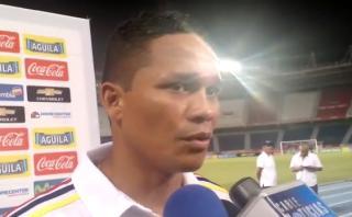"""Colombia: Carlos Bacca preocupado por el """"juego brusco"""" de Perú"""