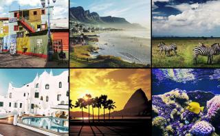 Fotos de la primera semana del reto #VamosPorElMundo