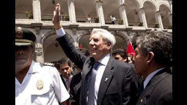 Mario Vargas Llosa a cinco años del Premio Nobel [FOTOS]