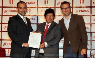 Selección peruana presentó a Pecsa como su nuevo auspiciador