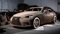Lexus fabrica auto de cartón [FOTOS]