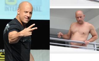 Vin Diesel perdió musculatura y ahora luce así