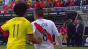Colombia dice que Perú juega brusco: video muestra lo contrario