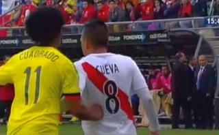 Colombia dice que Perú juega brusco: video evidencia lo opuesto