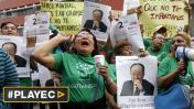 Activistas protestaron contra modelo económico de Banco Mundial