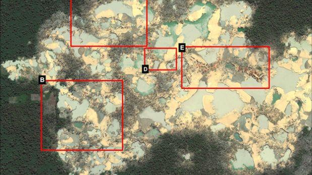 El área afectada por la deforestación está a tan solo 6 Km de la reserva de Tambopata. (Foto: MAAP)