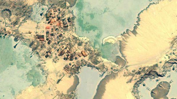 Se calcula que en toda La Pampa hay 25 mil a 30 mil mineros ilegales, los que causan la deforestación.  (Foto: MAAP)