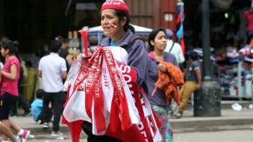 Perú vs. Colombia: así se vive la previa del partido en Gamarra