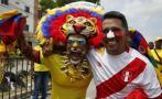 Perú vs Colombia: así se vive partido en Barranquilla [FOTOS]