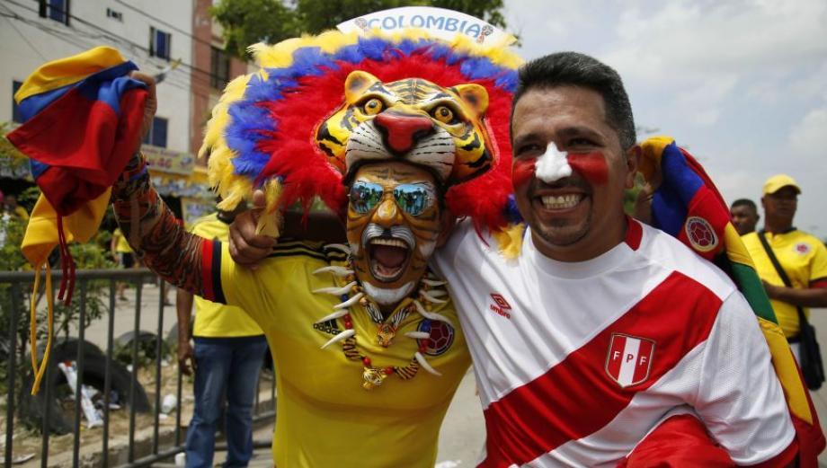 Perú vs Colombia: así se vivió partido en Barranquilla [FOTOS]