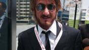 Sean Penn llegó a Lima y estará en foro del BM y el FMI