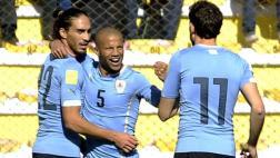 Bolivia 0-2 Uruguay: en el inicio de las Eliminatorias