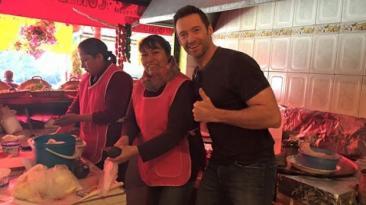 Hugh Jackman encontró el 'mejor taco de la ciudad de México'
