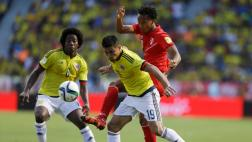 Perú pierde (1-0) pero busca el empate ante Colombia