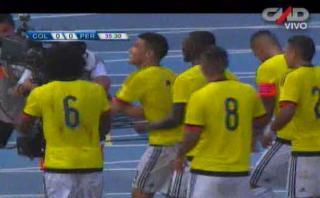 Perú vs. Colombia: error de la bicolor y gol de Teo Gutiérrez