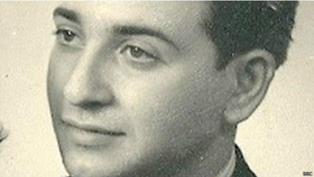 Chaim Ferster tenía 17 años cuando estalló la guerra, en 1939. Burló a la muerte en ocho campos de concentración. (Foto: BBC Mundo)