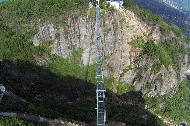 Y además de estar ubicados a grandes alturas algunos también son considerablemente largos. (Foto: Getty Images)