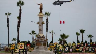 Combate de Angamos: así fue el desfile y homenaje a Miguel Grau