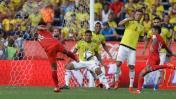 Perú cayó 2-0 ante Colombia en el inicio de Eliminatorias