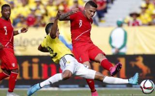"""Paolo Guerrero: """"Perú le causó grandes problemas a Colombia"""""""