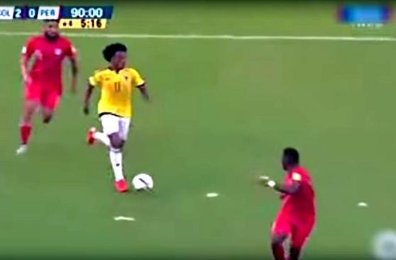 Perú vs. Colombia: Edwin Cardona y su gol a los 90' del partido