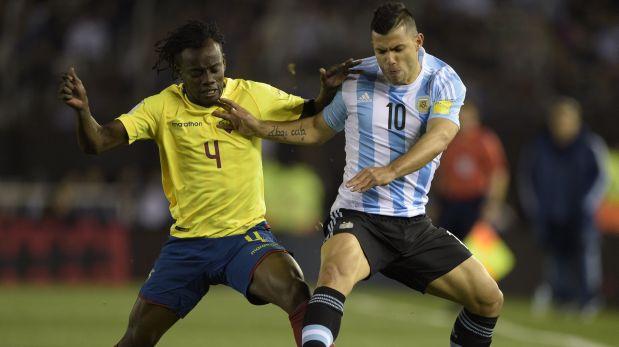 Argentina enfrenta a Ecuador por las Eliminatorias Rusia 2018. (Foto: AFP)