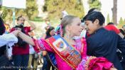 Peruanos celebraron el Día de La Marinera con flashmob en Roma