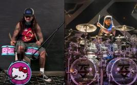 Mike Portnoy aceptó reto de tocar en una batería de Hello Kitty
