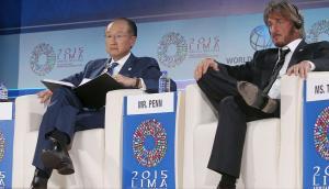 Sean Penn: así participó en la Junta del BM-FMI [FOTOS]