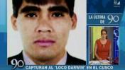 'Loco Darwin': cabecilla de Malditos de Bayóvar cayó en Cusco
