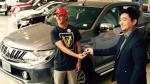 Mitsubishi entrega una L200 DKR a Miguel Tudela - Noticias de miguel tudela